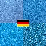 Filterschwamm Filtermatte Innenfilter Aquarienfilter (PPI 45 50x50 x 3cm)