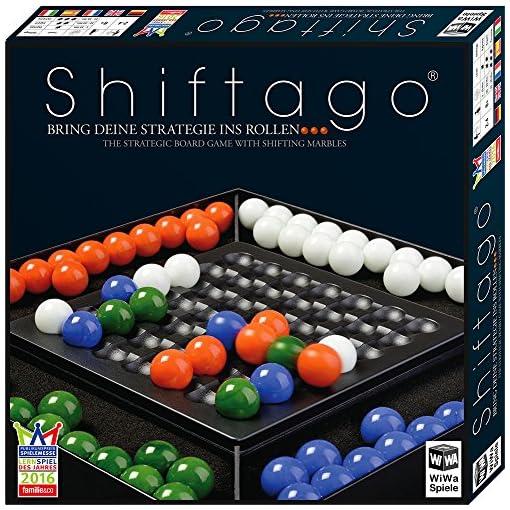 WiWa-Spiele-790023-SHIFTAGO-Bring-Deine-Strategie-ins-Rollen-Auf-der-Empfehlungsliste-SPIEL-DES-JAHRES-2017-Spiel-Gesellschaftsspiel-Familienspiel-Brettspiel-Strategiespiel-fr-2-4-Spieler-mit-88-hochw