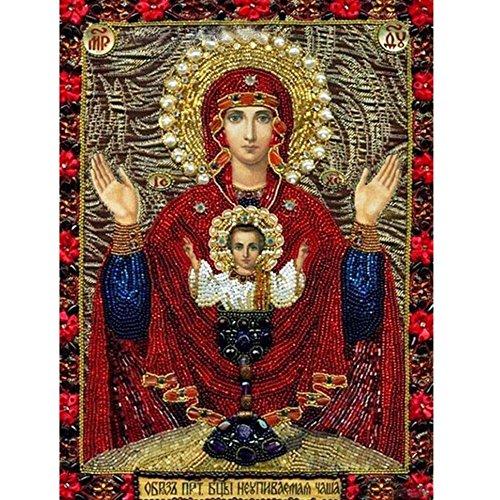 erei Kunst Kreuzstich Set Diamond Gemälde Voller Bohrer Stickerei Mosaik für Home Decor mit Werkzeug Zubehör ()