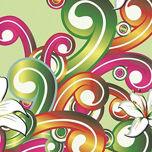 Apple iPhone 5s Housse Étui Protection Coque Fleur Fleur Motif floral Sac Downflip noir