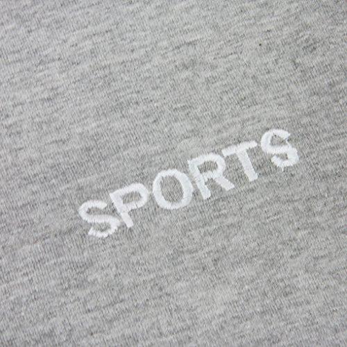 Herren Baumwolle Boardshorts Badeshorts Badehose Beach Shorts/ Lässig, Surfen, Sommer, Strand Shorts XXXL Hellgrau