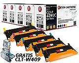 5 Original Reton Toner kompatibel nach (ISO-Norm 19798) ersetzt CLT-P4092C für Samsung CLP-310N CLP-315 CLP-315W Samsung CLX-3170 CLX-3170FN CLX-3175 CLX-3175FN CLX-3175FW CLX-3175N