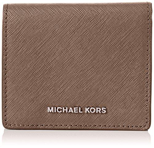 Michael KorsJet Set Carryall Card Case - Portafogli Unisex adulti , Jet Set Carryall Card Case, marrone