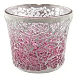 YANKEE CANDLE 1521537 Cup Kerze, Glas, Rosa, 7.7 x 8 x 7.1 cm