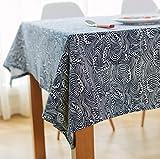 Tischdecke Japanischen Stil Baumwolle Leinen Tischdecken Rechteckige Tischdecke Couchtisch Tee Tisch Heimtextilien 140x220cm