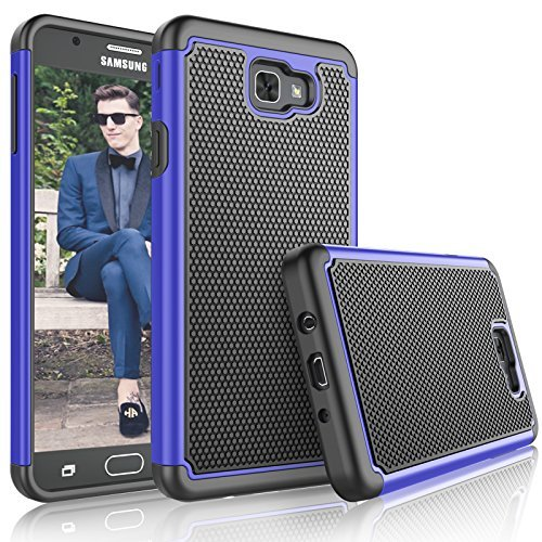 Royal Blue Womens Capris (Galaxy J7Sky Pro Fall, Galaxy J7V/j7V/J7perx Fall für Mädchen, tekcoo [tmajor], Gummi Kunststoff Kratzfest Defender Bumper Rugged Hard Cover Fällen für Samsung J72017)