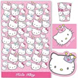 Hello Kitty Princess Party Tableware Pack for 8