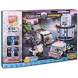 Juinsa - Construcción Comp Lego Policía con 311 piezas,.40 x 28 cm (81476)