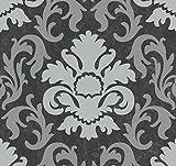 P+S VliesTapete Kollektion Carat, schwarz, 13343-40