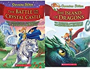 GERONIMO STILTON AND THE KINGDOM OF FANTASY #13:THE BATTLE FOR CRYSTAL CASTLE + GERONIMO STILTON AND THE KINGD