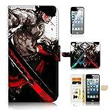 (pour iPhone 6/iPhone 6S) Portefeuille Flip Coque Protecteur d'écran et Bundle–A21203One Piece Zoro