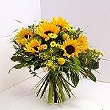 Blumenstrauß aus Sonnenblumen Sonnenschein Size 50 Euro