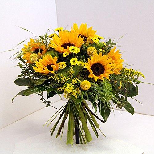 Im Blumenstrauß *Sonnenschein* bringen die Sonnen Blumen pure freude ins Haus, bestellen Sie jetzt und lassen Sie Sich Ihren Blumengruß vom Floristenmeister binden. Size 35 Euro Blumen Für Die Lieferung