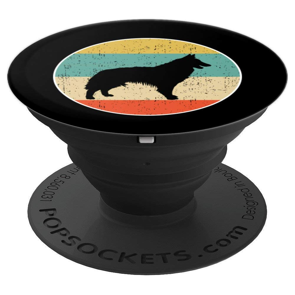 Belgian Tervuren Dog Gift PopSockets Grip and Stand for Phones and Tablets