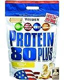 Weider, 80 Plus Protein, Vanille, 1er Pack (1x 2kg)