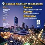 Sonata Per Due Pianoforti E Percussioni Bb 115
