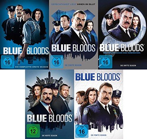 Produktbild Blue Bloods Staffel 1+2+3+4+5 DVD Set (30 DVDs)