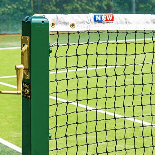 Tennisnetz für Doppel 12,8 m (42 Fuß), 3 mm, Gewicht 6,5 kg [Net World Sports]