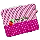 Kulturbeutel mit Namen rosa 21 x 16 cm, Kulturbeutel Mädchen, Kulturtasche Kinder, Mädchen Geschenke, personalisierte Geschenke, Geschenk Schultüte