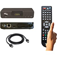 DECODER COBRA DIGITALE TERRESTRE mod. DINGO, FULL HD, PVR, DVB-T2, H.265/HEVC, MEDIAPLAYER, Cavo HDMI, VIDEO…