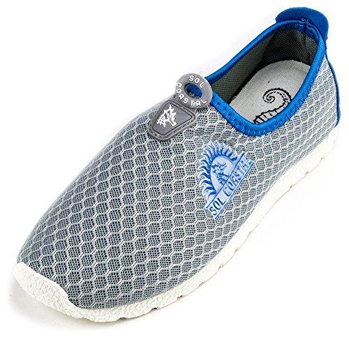 Gris pour femme Shore chemin de l'eau Chaussures, taille 10