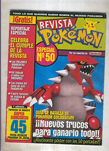 Revista pokemon numero 50