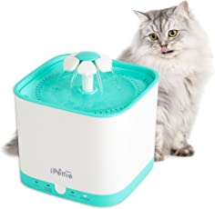 iPettie Neko NS Smart Katzen Trinkbrunnen 2L Automatischer Wasserfontänen mit Super Ruhiger Pumpe und Austauschbarem Filter, Super Leise Elektrischer Wasserspender für Katzen und Hunde (Radar)