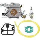 Mumusuki carburateur kit geschikt voor Husqvarna 36 41 136 137 141 142 kettingzaag geschikt voor Zama C1Q-W29E Carburateur ve