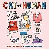 CAT vs HUMAN 2016 Wall Calendar.