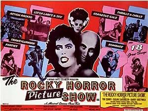 The Rocky Horror Picture Show Affiche du film Poster Movie La horreur branlante peint mise en vue (11 x 17 In - 28cm x 44cm) Foreign Style A