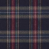 Fabulous Fabrics Schottenkaro Stretch 11 - Navy - Meterware
