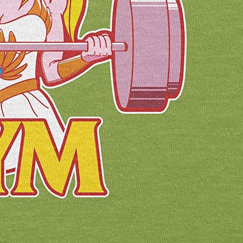 Texlab–She Fitness 1985–sacchetto di stoffa Verde chiaro
