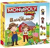 Winning Moves Monopoly Junior Mein Bauernhof - Verbringe spielerisch Einen Tag mit Den  Bewohnern und Tieren des Bauernhofes!