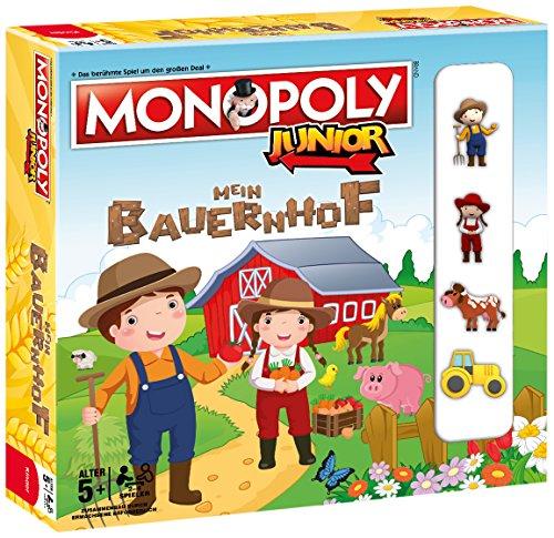 Monopoly Junior Mein Bauernhof - Verbringe spielerisch einen Tag mit den  Bewohnern und Tieren des Bauernhofes!