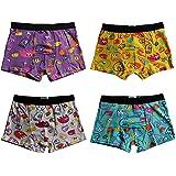 4-8-12er Pack Jungen Boxershorts Baumwolle Pesail Kinder Kids Unterhose Retropants Bio Gr. 92-104,110-122,128-134,140-146