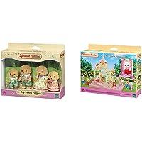 Sylvanian- Autre Families Mini Univers, 5259, Norme & Le château et Crème Le bébé Lapin Chocolat Mini-Univers, 5319…