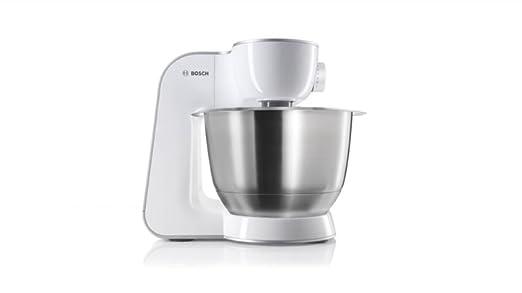 Amazon.de: Bosch MUM54W41 Küchenmaschine Styline MUM5 (900 Watt ...