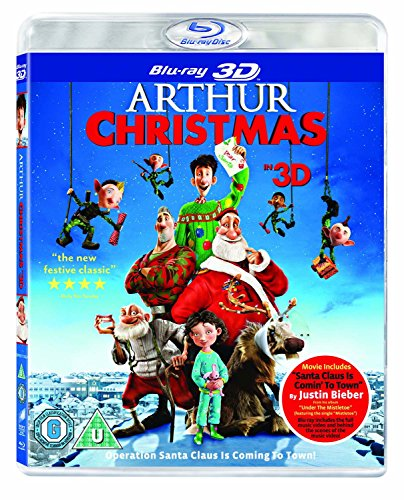 Arthur Christmas [Reino Unido] [Blu-ray] 613JfedjdfL