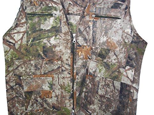 Hommes de camouflage Jungle Imprimé Camouflage Gilet Tailles: M–XXL Jungle Print