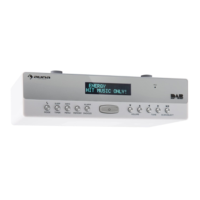 Auna KR 100 DAB Kitchen Radio • Under Cabinet Amazon