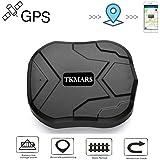 Hangang GPS Tracker ,GPS Tracker per Auto Forte Magnetico 3 mesi di GPS Inseguitore Ricaricabile Standby per il Veicolo Car T