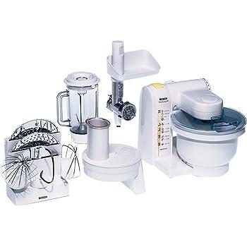 Amazon.de: Bosch MUM48R1 Küchenmaschine MUM4 (600 Watt, 3.9 Liter ...