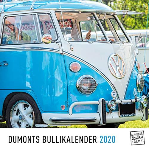 DUMONTS Bulli-Kalender 2020 - VW-Bus, Oldtimer, Retro - 24 x 24 cm im Quadratformat