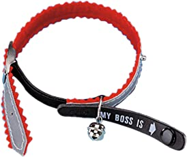 Nobby 78039-01 Adress-Katzenhalsband My Boss is