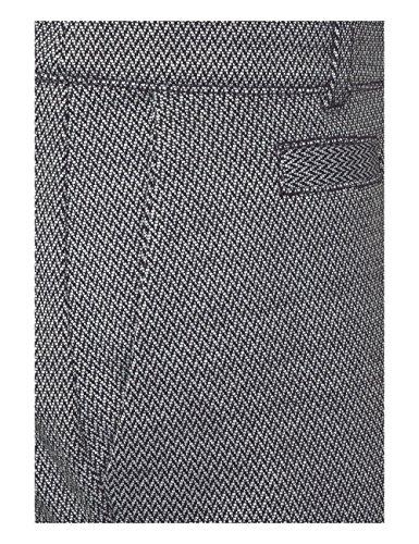 Street One, Pantaloni Donna Schwarz (Black 20001)