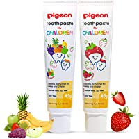Pigeon Children Toothpaste Strawberry and Fruit Punch 45 Gm Combo