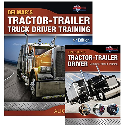 Delmars Tras Tractor Trailer Truck Driver Training 4Ed And Trucking Tractor Trailer Driver Computer Based Training Cd Rom 2Ed (Pb 2013) [Paperback] [Jan 01, 2017] NA
