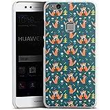 Huawei P10 lite Hülle Case Handyhülle Fuchs Comic Liebe Love