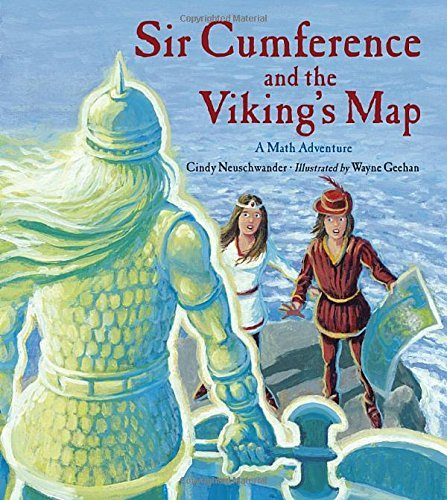 Sir Cumference and the Viking's Map (Charlesbridge Math Adventures (Hardcover)) by Cindy Neuschwander (2012-02-01)