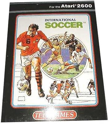 International Soccer ( Atari 2600 ) from Telegames Ltd